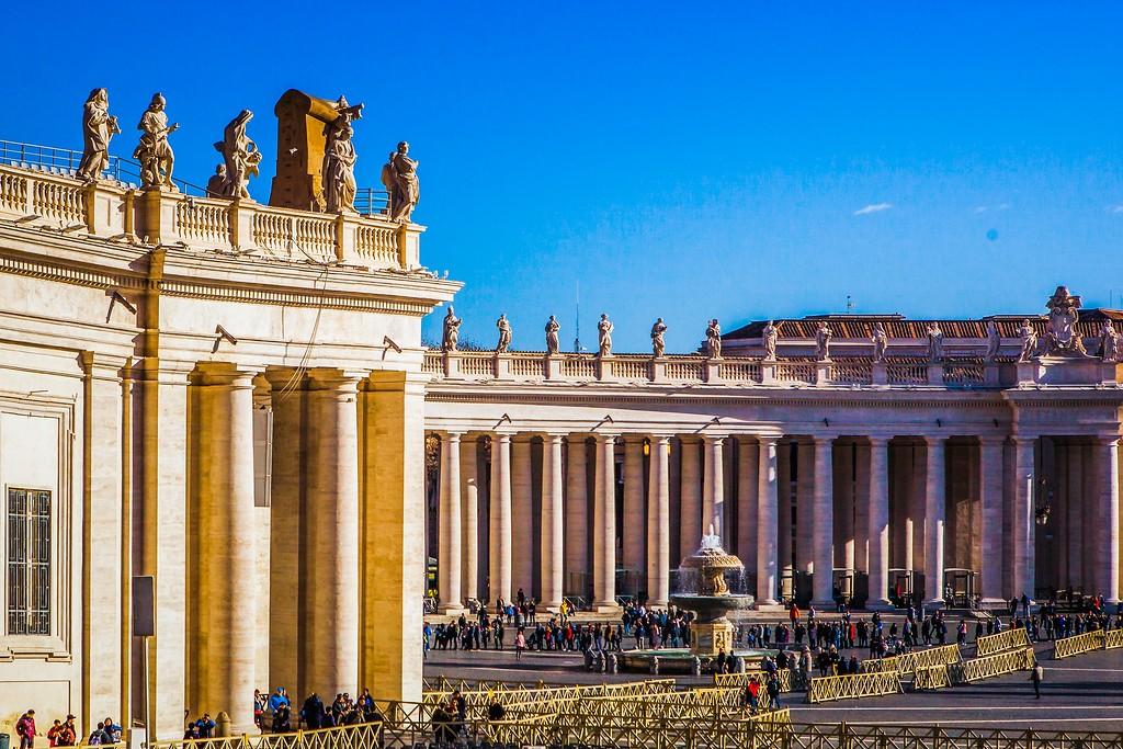 梵蒂冈圣伯多禄广场(St. Peter's Square),闻名天下_图1-7