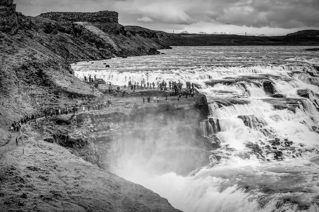 冰岛古佛斯瀑布(Gullfoss),场面震撼_图1-19