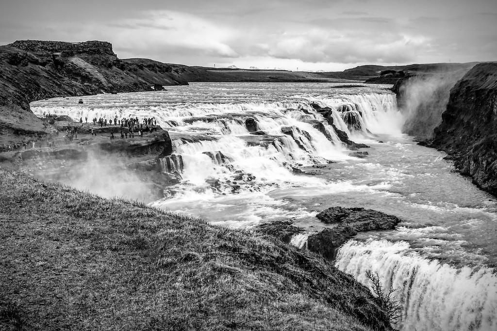 冰岛古佛斯瀑布(Gullfoss),场面震撼_图1-17