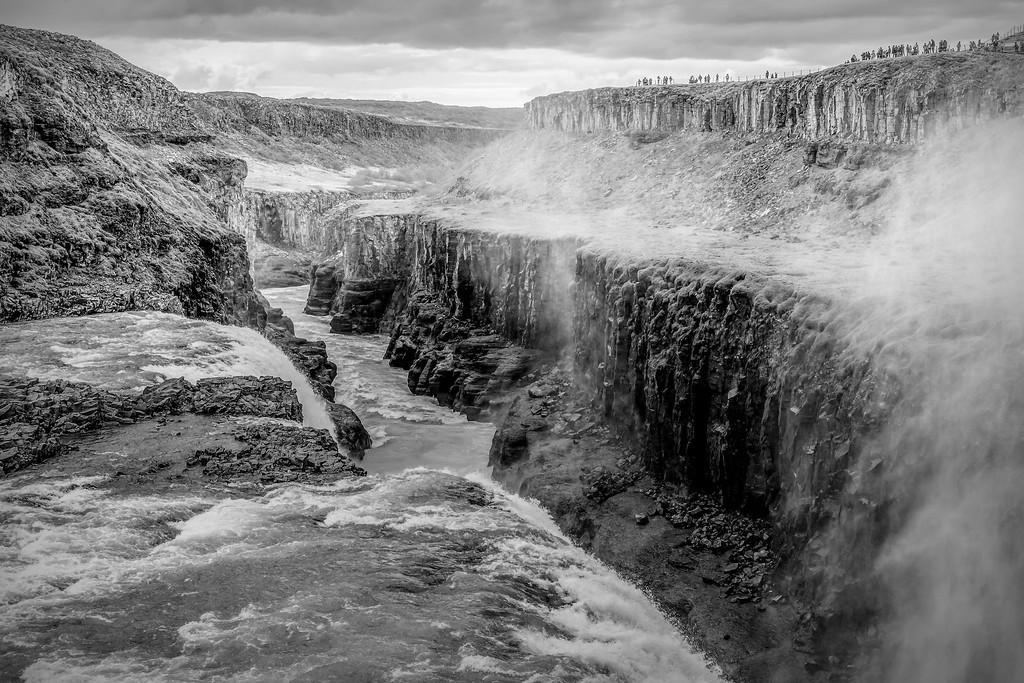 冰岛古佛斯瀑布(Gullfoss),场面震撼_图1-14