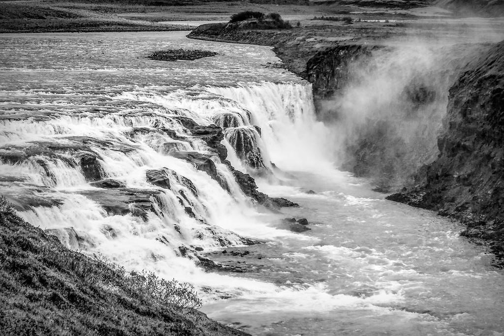 冰岛古佛斯瀑布(Gullfoss),场面震撼_图1-16