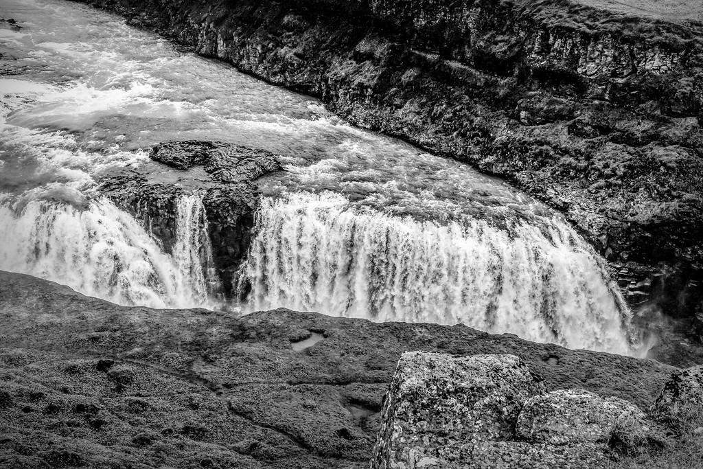 冰岛古佛斯瀑布(Gullfoss),场面震撼_图1-18