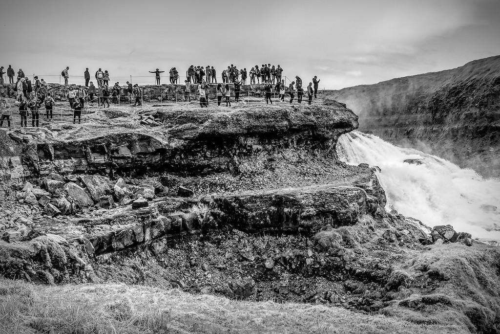 冰岛古佛斯瀑布(Gullfoss),场面震撼_图1-12