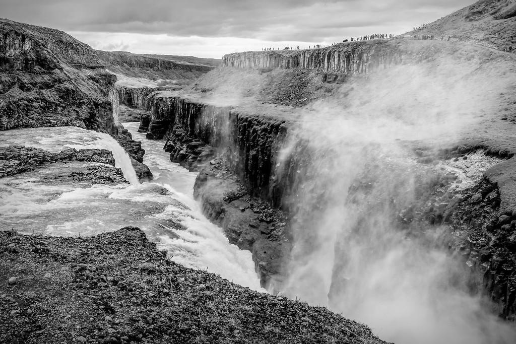 冰岛古佛斯瀑布(Gullfoss),场面震撼_图1-13