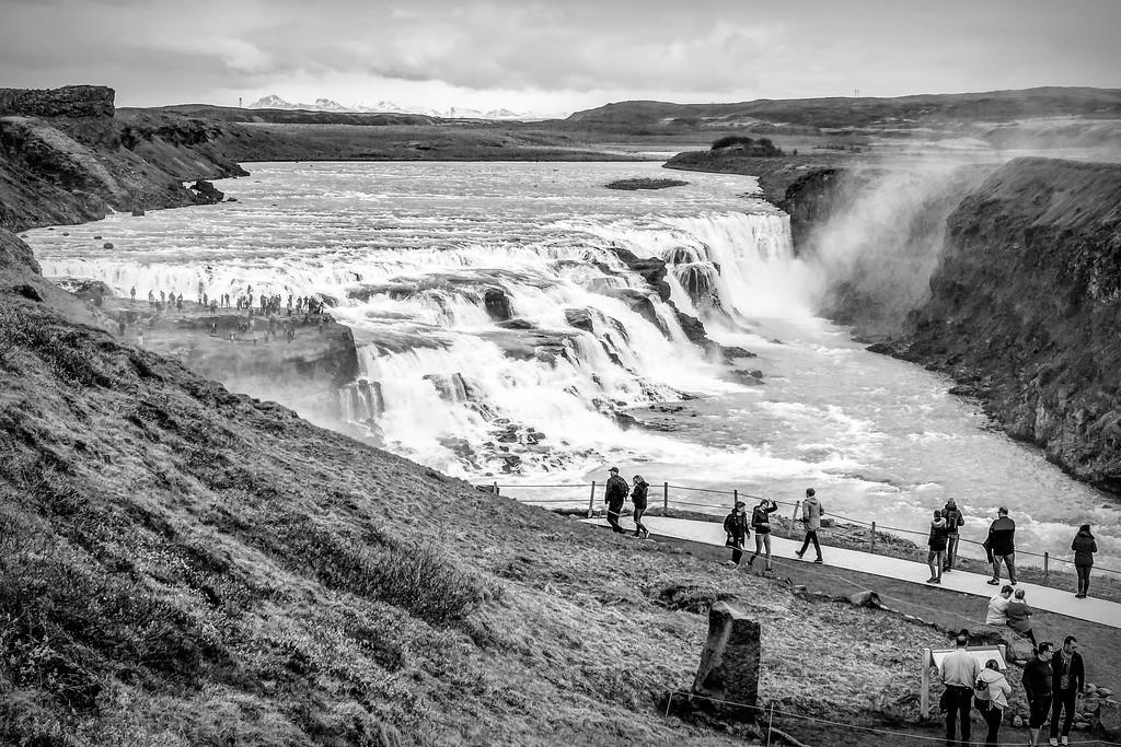 冰岛古佛斯瀑布(Gullfoss),场面震撼_图1-9