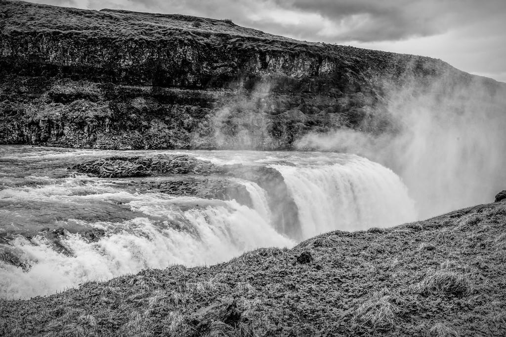 冰岛古佛斯瀑布(Gullfoss),场面震撼_图1-10