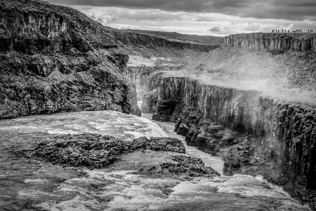 冰岛古佛斯瀑布(Gullfoss),场面震撼_图1-11