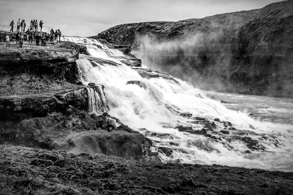 冰岛古佛斯瀑布(Gullfoss),场面震撼_图1-7