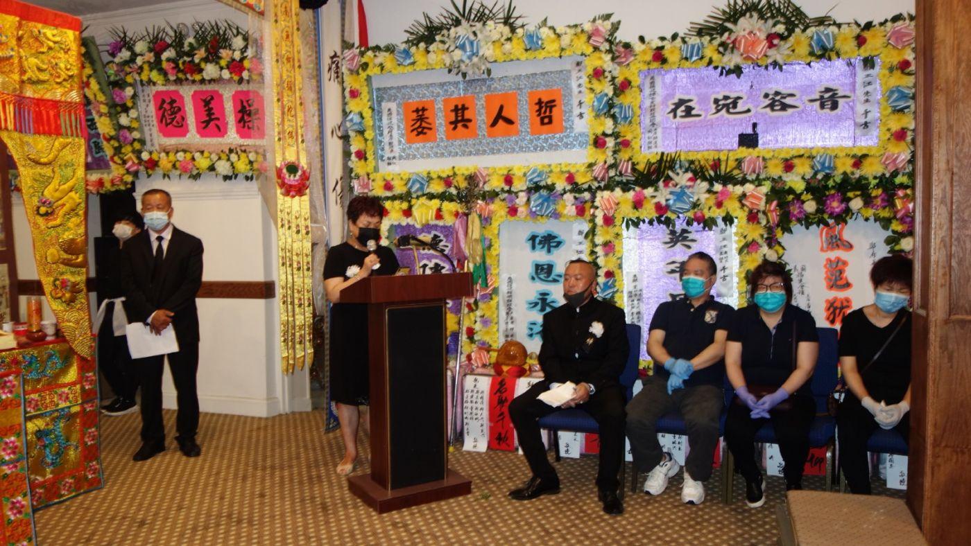 美国福建琯头联合总会主席鄭正江追悼會在紐約华埠舉行_图1-8