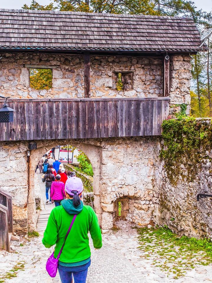 斯洛文尼亚布莱德城堡,走近窥探_图1-5