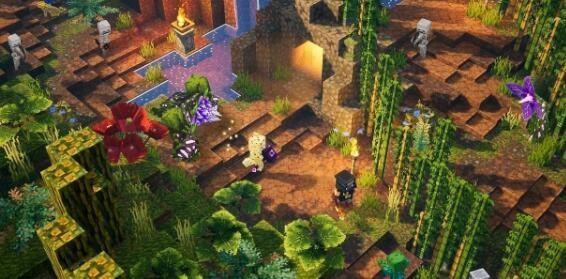 《我的世界:地下城》DLC《丛林觉醒》新增要素有哪些?《丛林觉醒》上线时间介绍 ..._图1-1