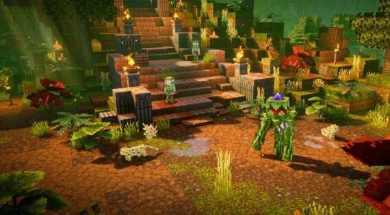 《我的世界:地下城》DLC《丛林觉醒》新增要素有哪些?《丛林觉醒》上线时间介绍 ..._图1-2
