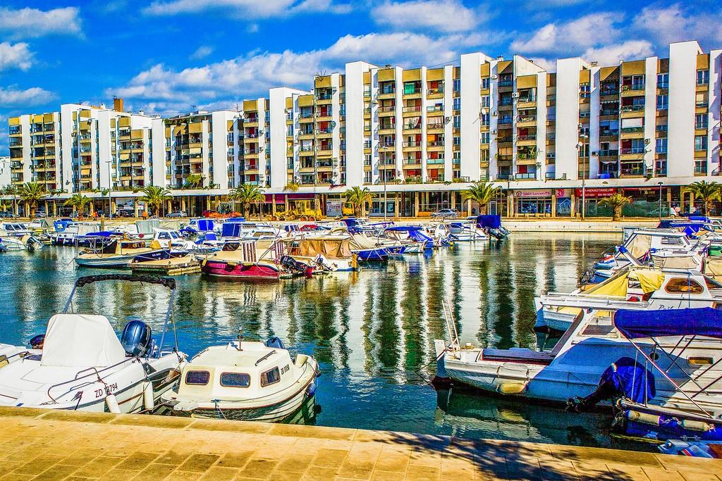 克罗地亚扎达尔(Zadar),滨江岸景_图1-27