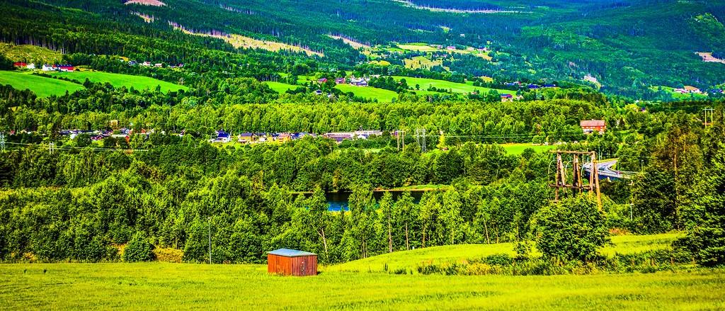 北欧风光,山林中的家_图1-35