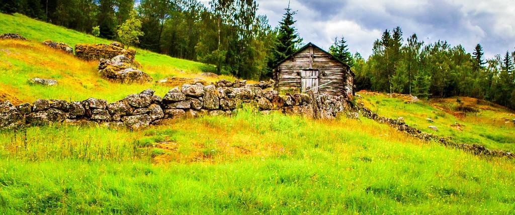 北欧风光,山林中的家_图1-29