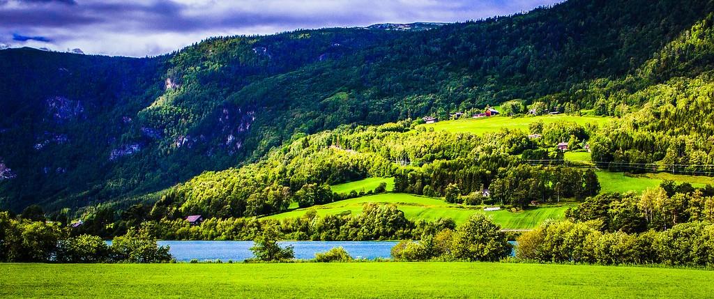 北欧风光,山林中的家_图1-32