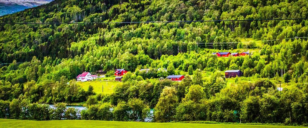 北欧风光,山林中的家_图1-28