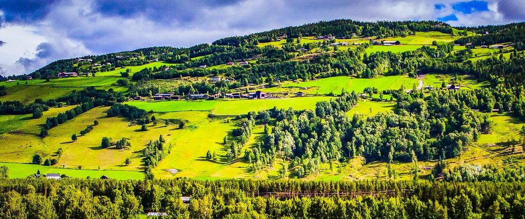 北欧风光,山林中的家_图1-19