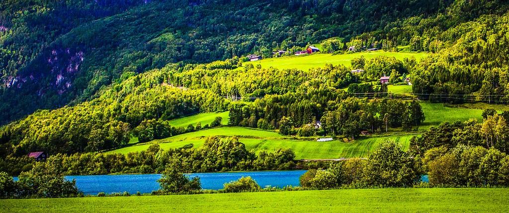 北欧风光,山林中的家_图1-7