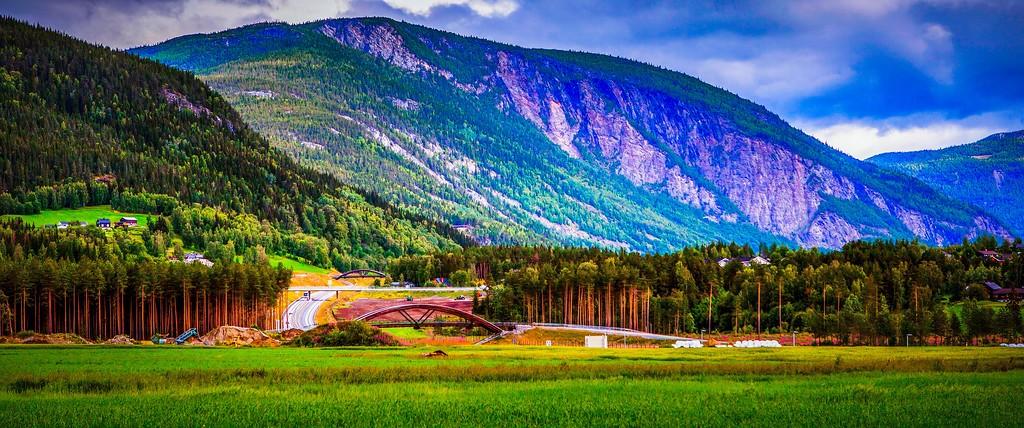 北欧风光,山林中的家_图1-14