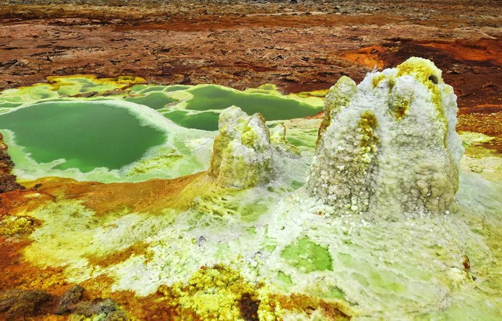 达纳基勒洼地---地球盐与绿泉_图1-1