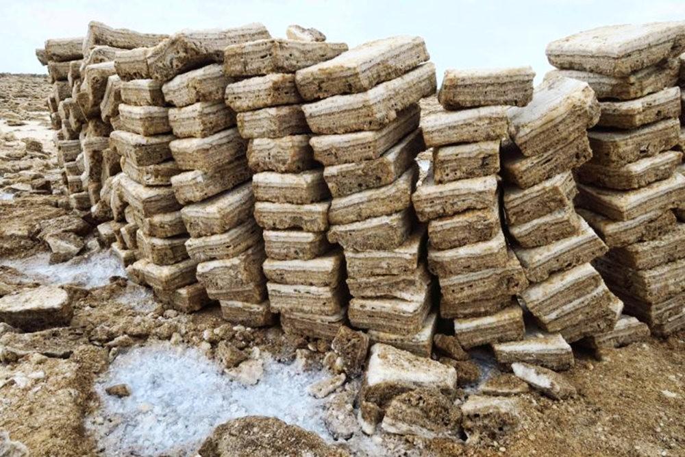 达纳基勒洼地---地球盐与绿泉_图1-7