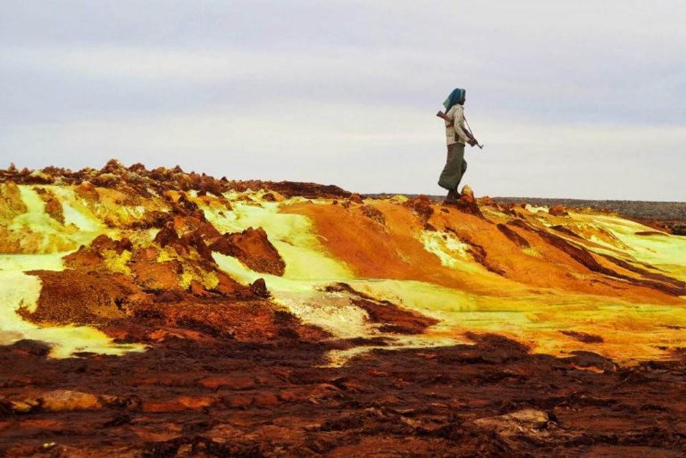 达纳基勒洼地---地球盐与绿泉_图1-22