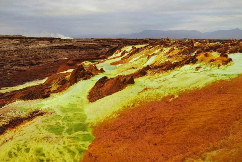 达纳基勒洼地---地球盐与绿泉_图1-24