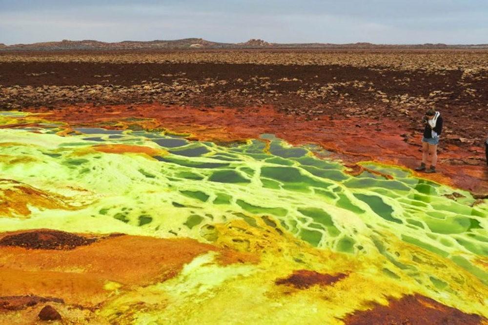 达纳基勒洼地---地球盐与绿泉_图1-25