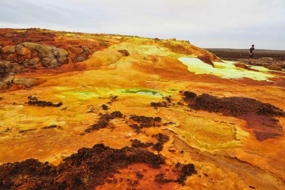 达纳基勒洼地---地球盐与绿泉_图1-29