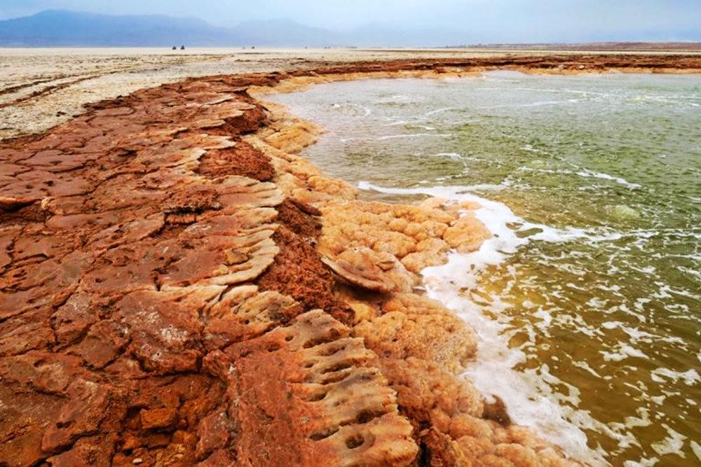 达纳基勒洼地---地球盐与绿泉_图1-35