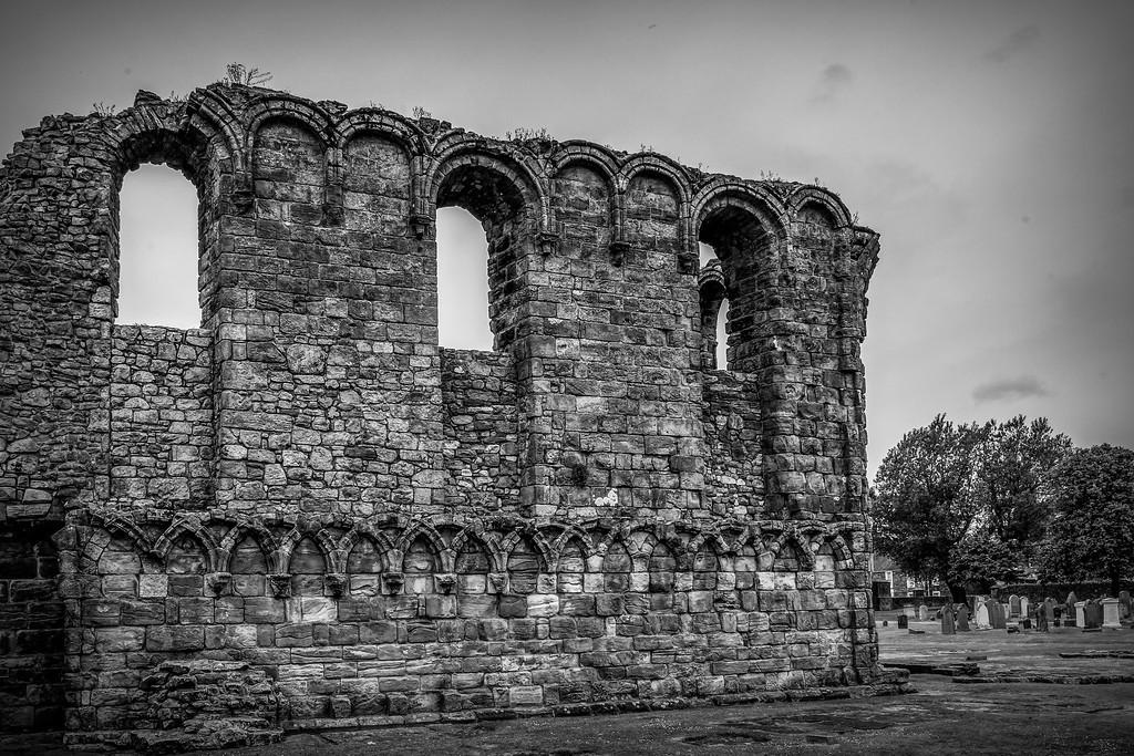 苏格兰圣安德鲁主教座堂(Cathedral of St Andrew)遗迹,历史回顾 ..._图1-14