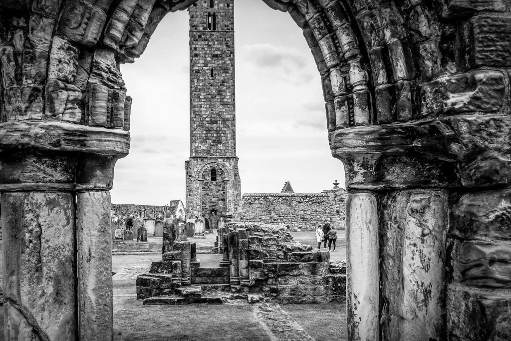 苏格兰圣安德鲁主教座堂(Cathedral of St Andrew)遗迹,历史回顾 ..._图1-10