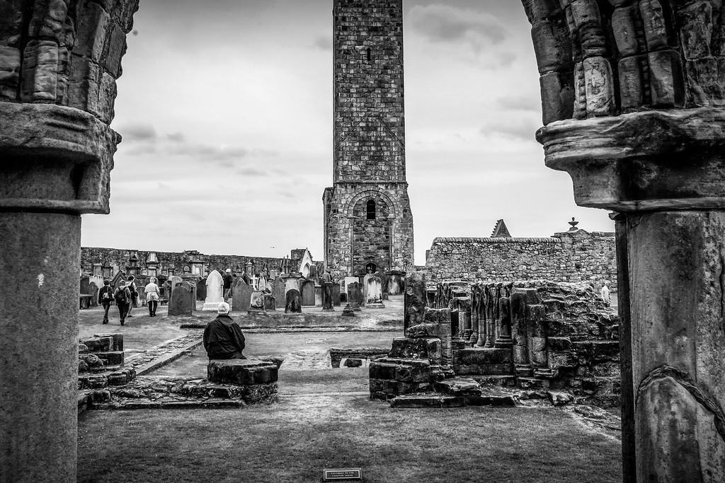 苏格兰圣安德鲁主教座堂(Cathedral of St Andrew)遗迹,历史回顾 ..._图1-12