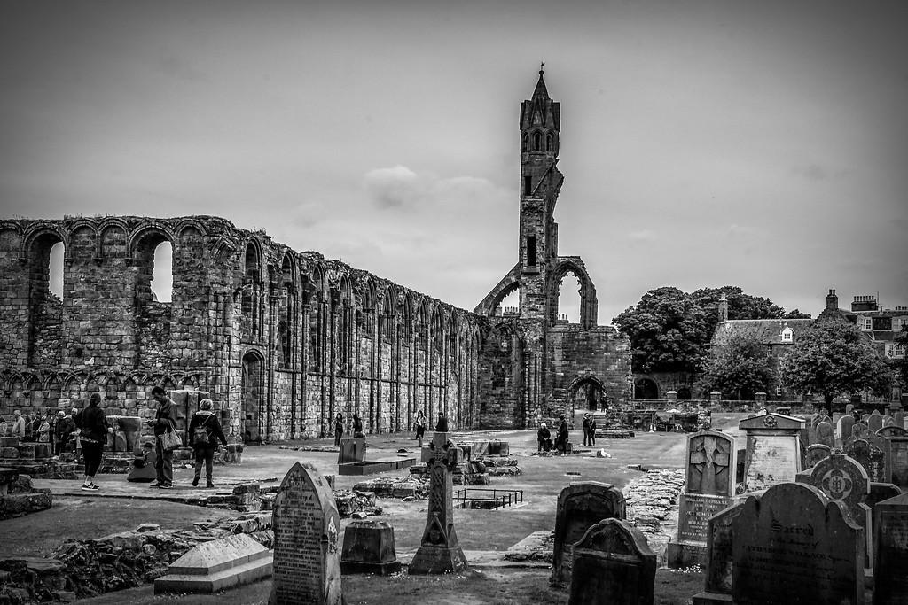 苏格兰圣安德鲁主教座堂(Cathedral of St Andrew)遗迹,历史回顾 ..._图1-6
