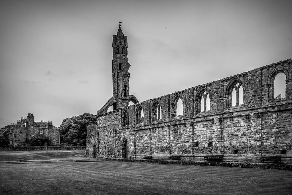 苏格兰圣安德鲁主教座堂(Cathedral of St Andrew)遗迹,历史回顾 ..._图1-2