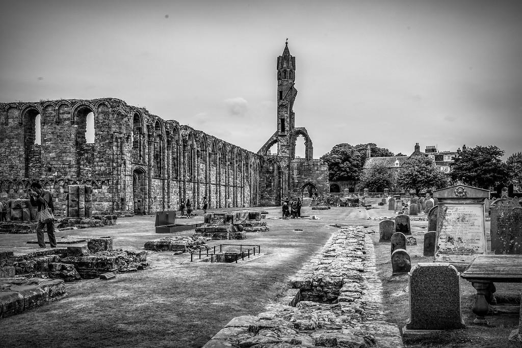 苏格兰圣安德鲁主教座堂(Cathedral of St Andrew)遗迹,历史回顾 ..._图1-1