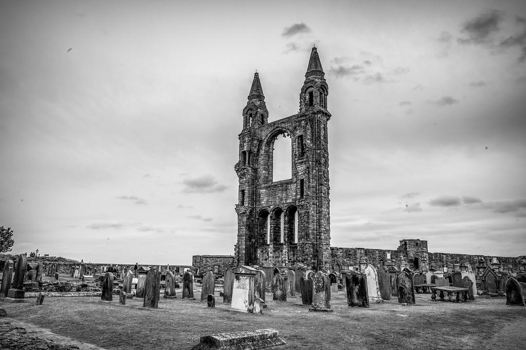 苏格兰圣安德鲁主教座堂(Cathedral of St Andrew)遗迹,历史回顾 ..._图1-3