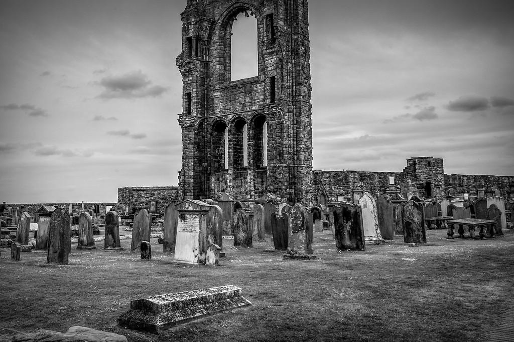 苏格兰圣安德鲁主教座堂(Cathedral of St Andrew)遗迹,历史回顾 ..._图1-4
