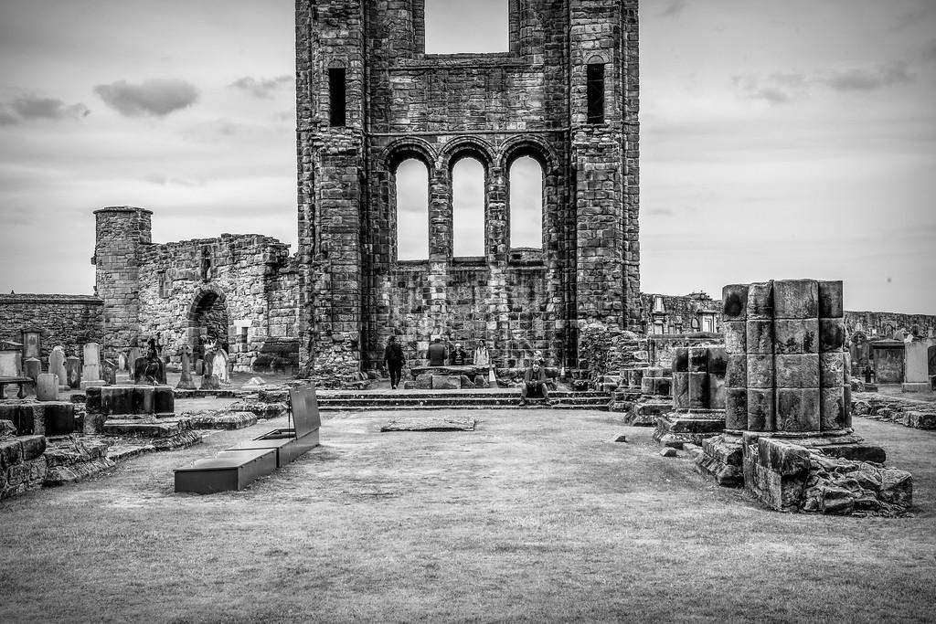 苏格兰圣安德鲁主教座堂(Cathedral of St Andrew)遗迹,历史回顾 ..._图1-17