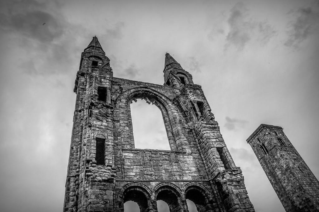 苏格兰圣安德鲁主教座堂(Cathedral of St Andrew)遗迹,历史回顾 ..._图1-18