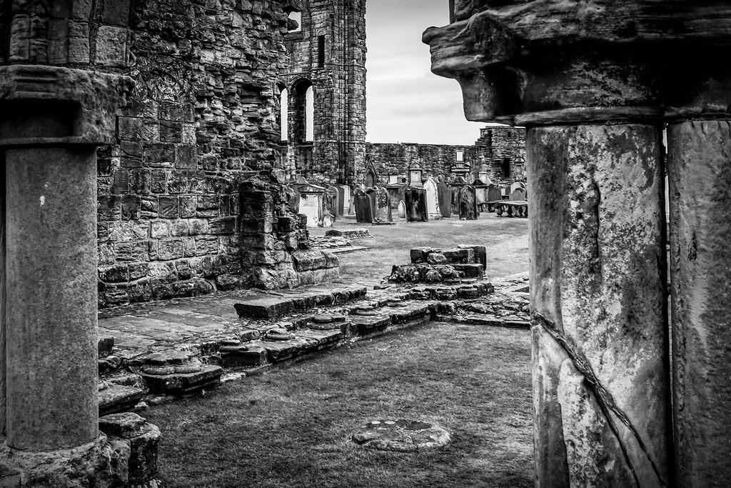 苏格兰圣安德鲁主教座堂(Cathedral of St Andrew)遗迹,历史回顾 ..._图1-19