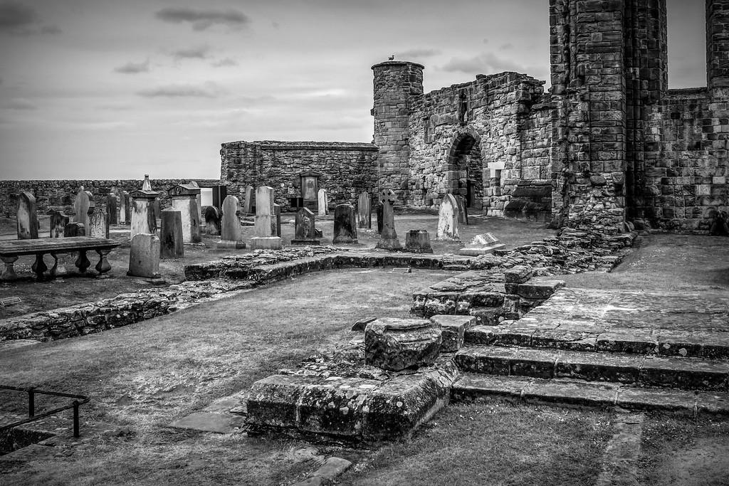 苏格兰圣安德鲁主教座堂(Cathedral of St Andrew)遗迹,历史回顾 ..._图1-23