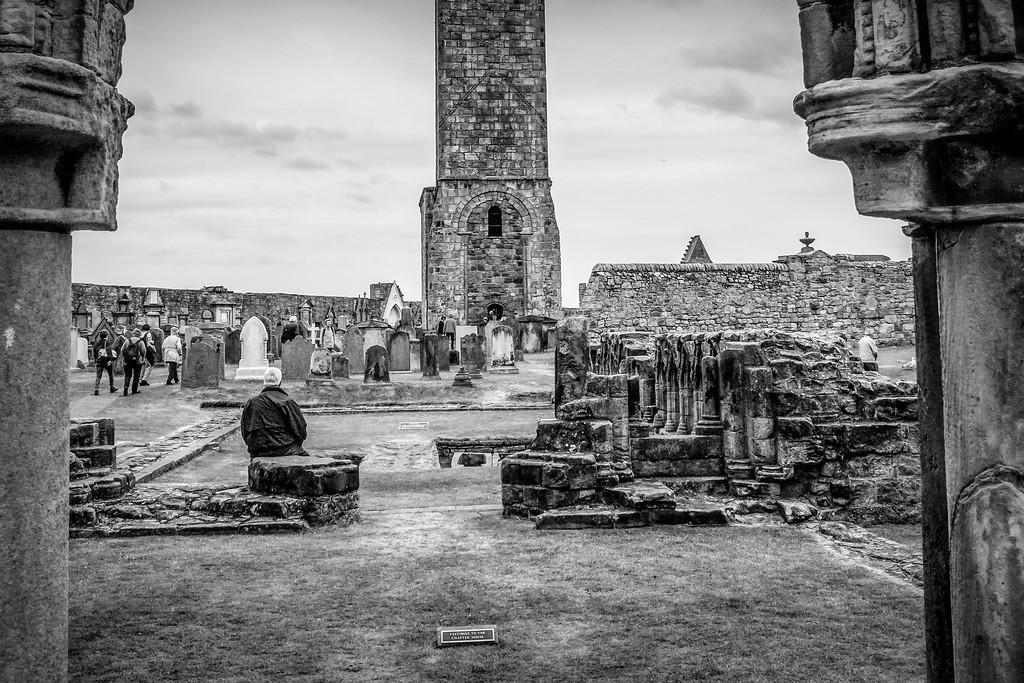 苏格兰圣安德鲁主教座堂(Cathedral of St Andrew)遗迹,历史回顾 ..._图1-22