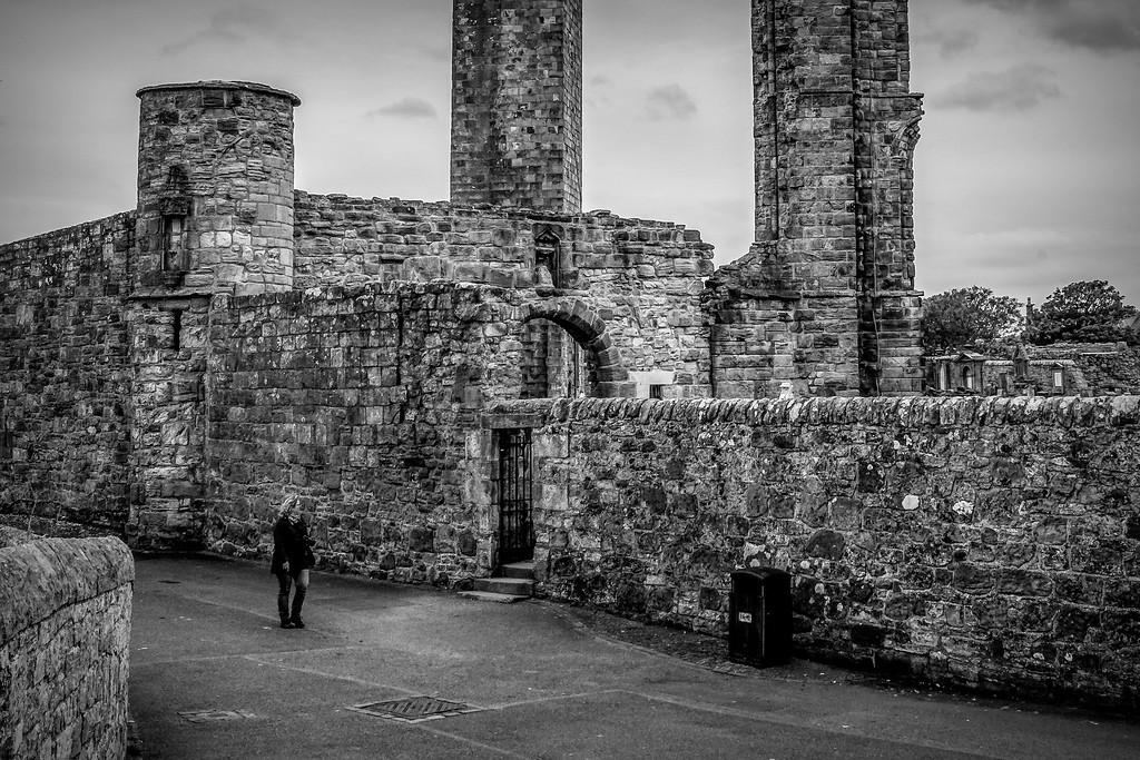 苏格兰圣安德鲁主教座堂(Cathedral of St Andrew)遗迹,历史回顾 ..._图1-25
