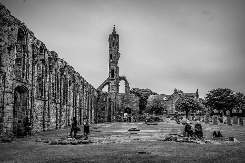 苏格兰圣安德鲁主教座堂(Cathedral of St Andrew)遗迹,历史回顾 ..._图1-28