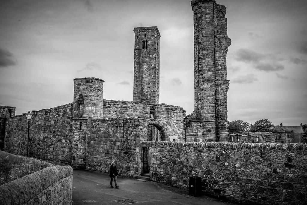 苏格兰圣安德鲁主教座堂(Cathedral of St Andrew)遗迹,历史回顾 ..._图1-32