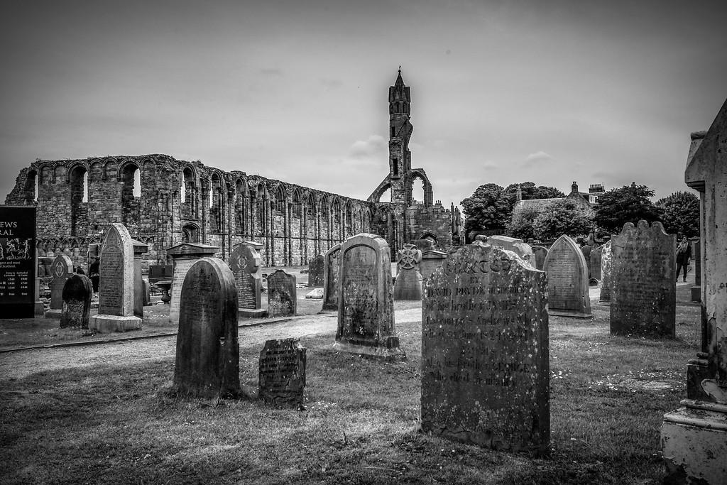 苏格兰圣安德鲁主教座堂(Cathedral of St Andrew)遗迹,历史回顾 ..._图1-30