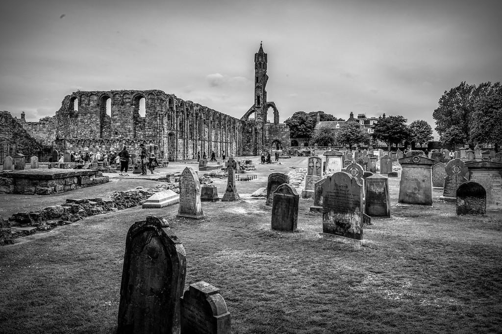 苏格兰圣安德鲁主教座堂(Cathedral of St Andrew)遗迹,历史回顾 ..._图1-39
