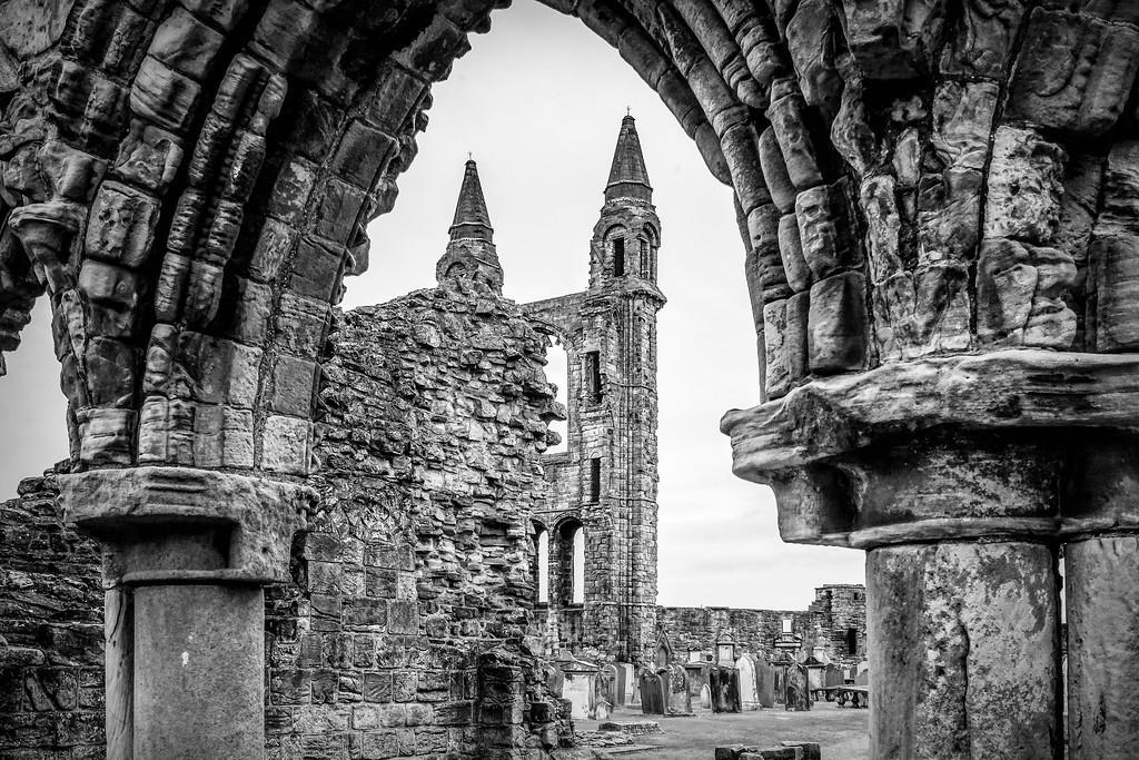 苏格兰圣安德鲁主教座堂(Cathedral of St Andrew)遗迹,历史回顾 ..._图1-37